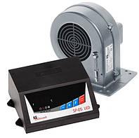 Комплект автоматики з вентилятором для котла KG elektronic sp-05 Led