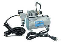 Миникомпрессор низкого давления с фильтром и шлангом 1/8HP MC-1100HFGM