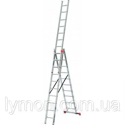 Лестница WERK Универсальная - LZ3211B/LLA311 3х11 (35277), фото 2