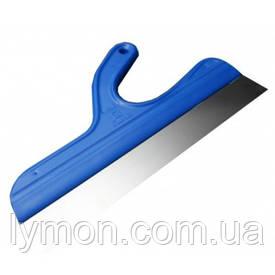 Кубала 0513 Шпатель (синя ручка) 335х37мм