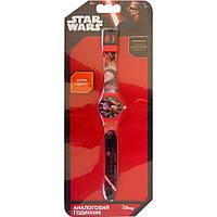 Часы аналоговые Звездные войны розовые TBL (SW34908)