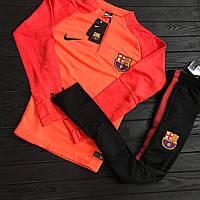 Спортивный (тренировочный ) костюм Барселона (Barcelona) 2017/2018 сезон