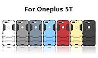 PC + TPU чехол Armor metal для OnePlus 5T (7 цветов)
