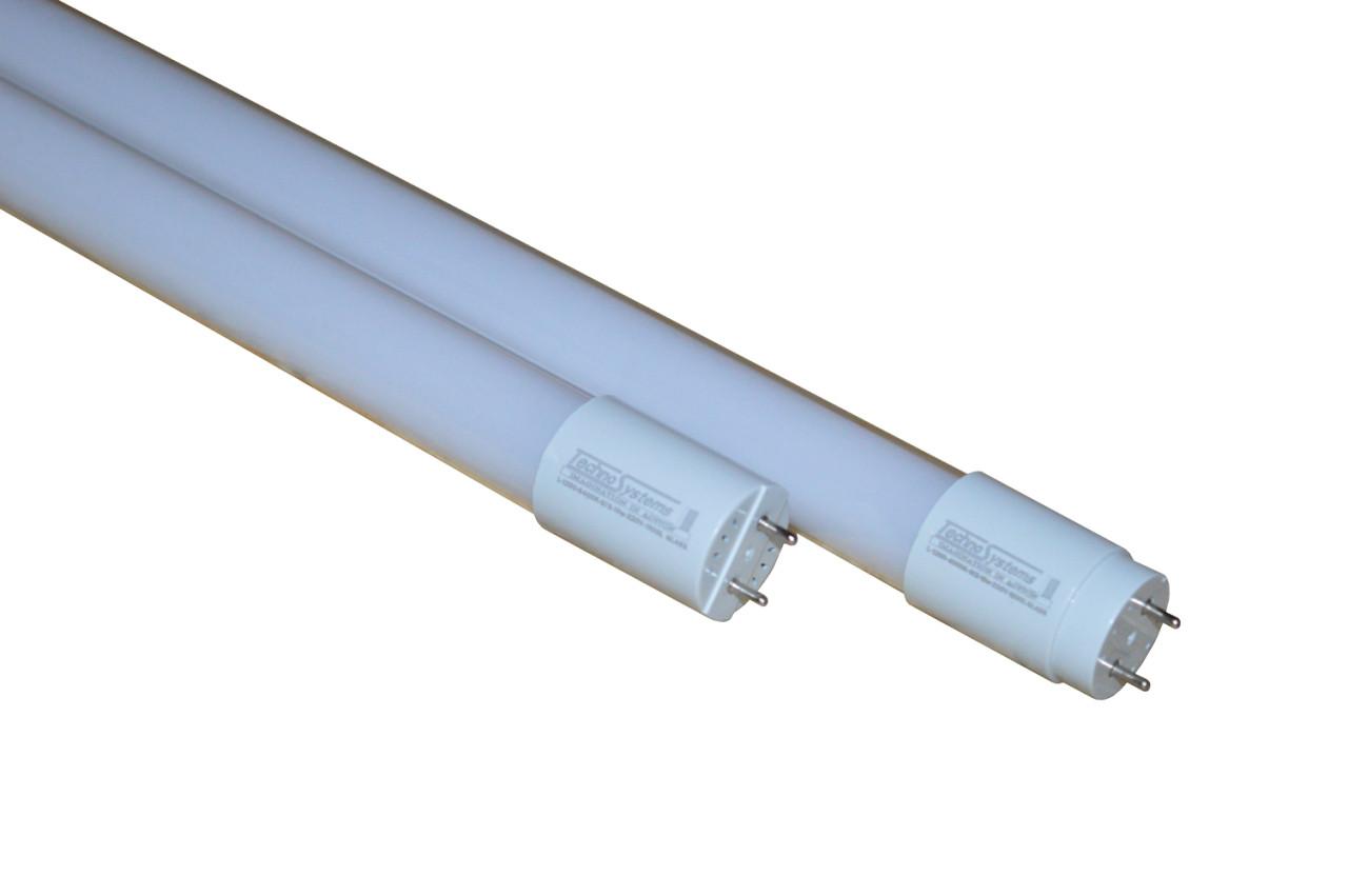 Лампа светодиодная Т8 LED L-600-4000K-G13-9w-220V-720L GLASS TNS