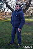 Мужской горнолыжный стеганый костюм на овчинк, фото 6