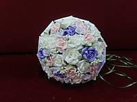 Свадебный букет-дублер из мелких роз