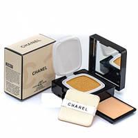 Кушон Chanel + компактная пудра