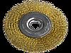 Щітка для КШМ, 100 мм, 22,2 мм, плоска рифлена