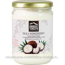Кокосовое масло рафинированное Olej Kokosowy bezzapachowy 0.500 гр