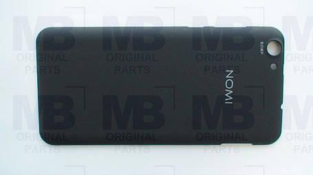 Задняя крышка (панель) Nomi i5530 Space X чёрная, фото 2