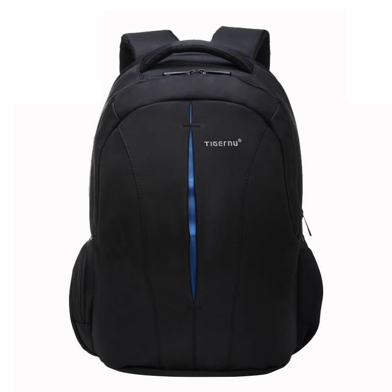 """Рюкзак для ноутбука 15,6"""" Тigernu T-B3105 черный с синим"""