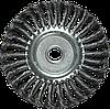 Щітка для КШМ, 150 мм, 22,2 мм, плоска кручена