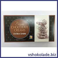 Конфеты-снежки кремовые в экстра черном шоколаде