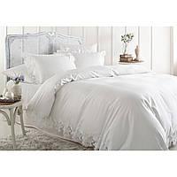 Жакардовий комплект постільної білизни тм Gellin Home venedic (white)