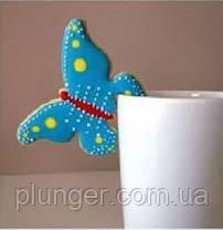 Вырубка для пряника Бабочка на чашку