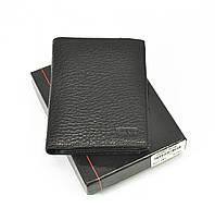 Кошелек мужской кожаный, карты, монеты черный Bond Non 527-281 Турция, фото 1