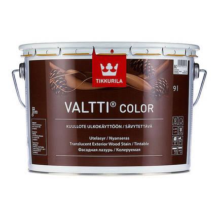 Фасадная лазурь на масляной основе Валти Колор (Valtti Color), Тиккурила (Tikkurila), EC, 9л, фото 2