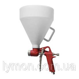 Пневпистолет для штукатурки INTERTOOL пластмас.7000мл PT-0402