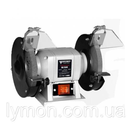 Електроточило FORTE BG1540 400 Вт,150х16х12мм,2840об/хв