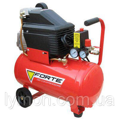Компресор FL-24 8 атм, 1,5 кВт вихід 203л/хв. FORTE (17460), фото 2