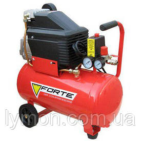 Компресор FL-24 8 атм, 1,5 кВт вихід 203л/хв. FORTE (17460)