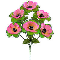 Букет искусственных цветов  Кувшинка с розеткой , 36 см