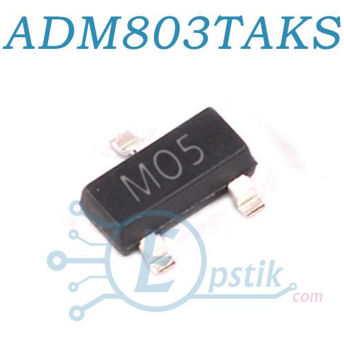 ADM803TAKSZ-REEL7, (M05), супервизор 1.2В-5.5В, SOT323