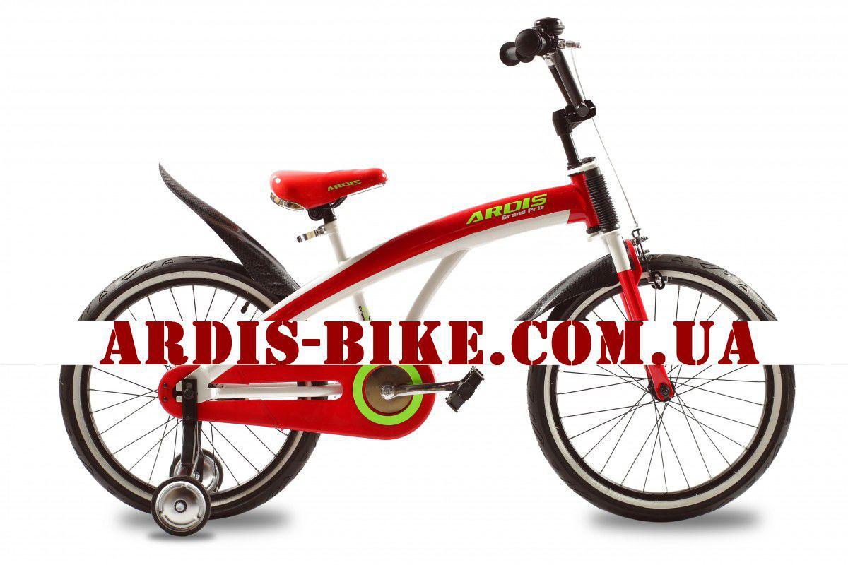 """Детский велосипед ARDIS GRAND PRIX 16""""  Красный"""