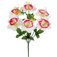 Букет искусственных цветов Нарцисс атласный , 38 см