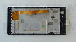 Дисплей с сенсором Nomi i508 Energy чёрный, оригинал!, фото 2