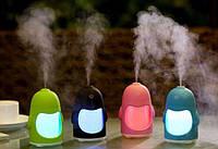 Увлажнитель воздуха в виде Пингвина с Led подсветкой заряжается от USB