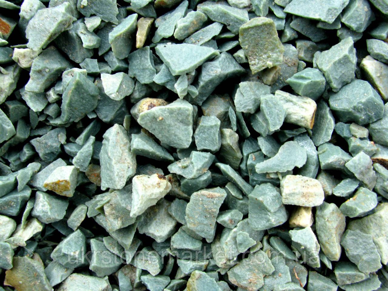 Крошка цеолитовая зеленая - Песчаник цена камень купить камень недорого, камни натуральные, картины на камне, отделочный камень в Хмельницком