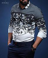 Стильная рубашка с длинным рукавом-трансформером (Турция), новинка