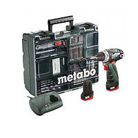 Шуруповерт аккум.Metabo PowerMaxx BS Basic Mob.+наб.акссес. 600080880
