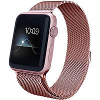 Ремінець для Apple iWatch 38mm Milanese Loop Band ser. Pink(394404)
