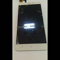 Дисплей для Xiaomi Redmi Note 3 с белым тачскрином БУ