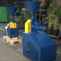 Экструдер зерновой шнековый трехфазный КЭШ-4 (380В, 15кВт, 150 кг/час)