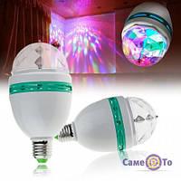 ТОП ВИБІР! Світломузика для дому, світлодіодна лампа, LED Mini Party Light Lamp, дискотека-лампа, диск 6000239