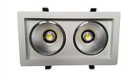 Светодиодный поворотный светильник 30Вт 4000K  SC30WK 240x125мм 4000К