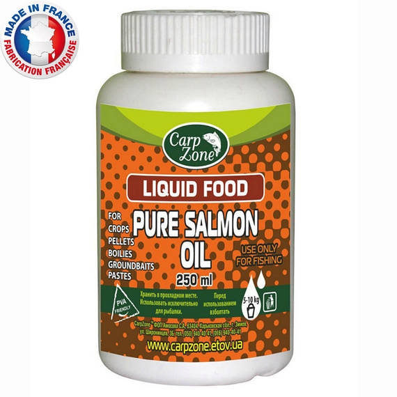 Лососевое масло Pure Salmon Oil 250ml