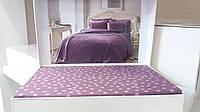 Комплект постельного белья Tivolyo Home Punto Mor Double сатин семейный фиолетовый