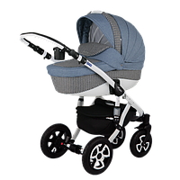 Детская универсальная коляска Adamex Barletta 646K (2 в1) купить оптом и в розницу в Украине 7 километр