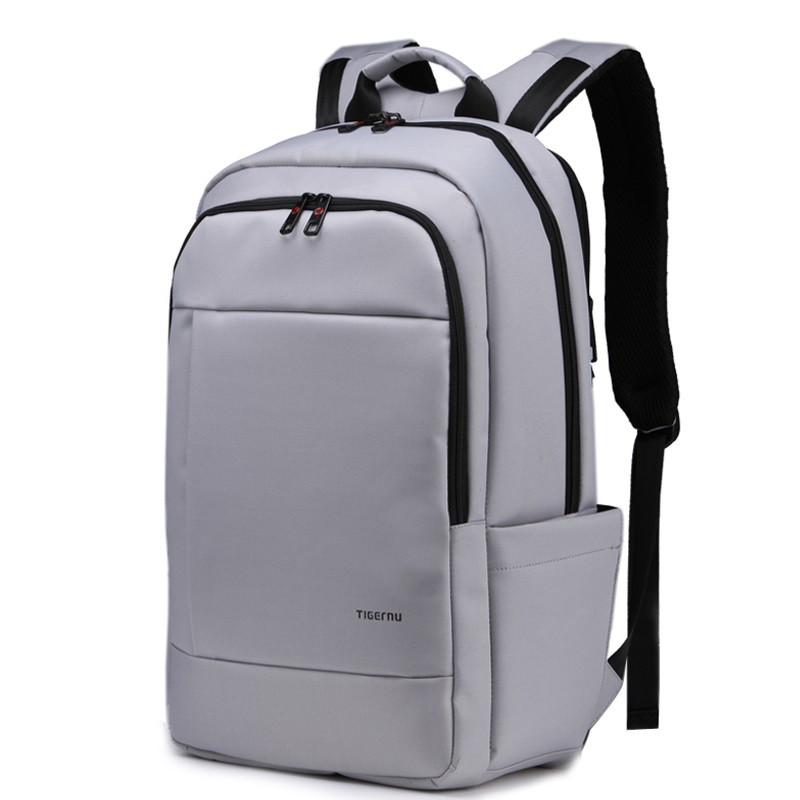 """Фирменный рюкзак для ноутбука 14"""" Тigernu T-B3142 серый"""