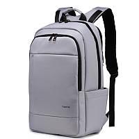 "Фирменный рюкзак для ноутбука 14"" Тigernu T-B3142 серый, фото 1"