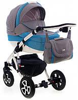 Детская универсальная коляска Adamex Barletta 87L (2 в1) купить оптом и в розницу в Украине 7 километр