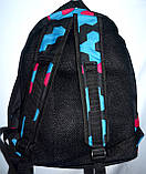 Спортивный цветной рюкзак Nike из текстиля 27*38 см, фото 2