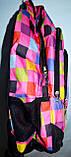 Спортивный бирюзовый рюкзак из текстиля 29*42 см, фото 2