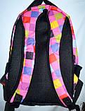 Спортивный бирюзовый рюкзак из текстиля 29*42 см, фото 3
