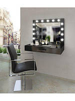 Туалетный столик из МДФ, навесной с выдвижными ящиками для дома, студии красоты, парикмахерской