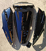 Комплект пластику HONDA DIO AF-27 (фарбований чорний)
